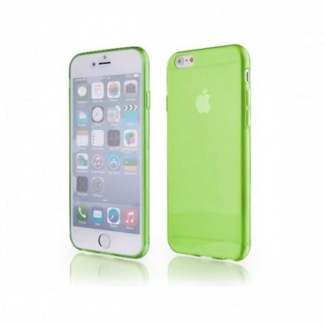 Silikon etui za Apple iPhone 6 (4.7) TPU +Folija ekrana Zelena barva