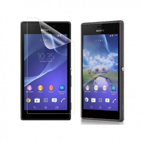 Silikon etui za Sony Xperia M2 Temna barva+folija ekrana