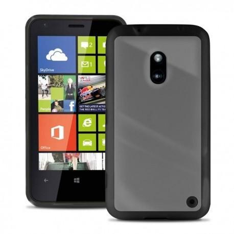 Etui za Nokia Lumia 620,prozoren s črnimi robovi