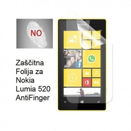 Zaščitna Folija za Nokia Lumia 520, AntiFinger