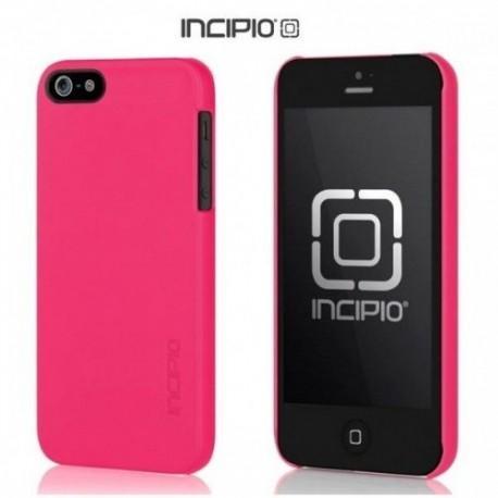 Etui za Apple iPhone 5/5S Incipio Feather shell Zadnji pokrovček, pink barva