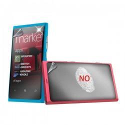 Zaščitna folija ekrana za Nokia Lumia 800,AntiFinger