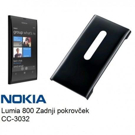 Etui za Nokia Lumia 800,črna barva,zadnji pokrovček,CC-3032