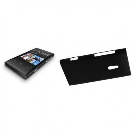 Etui za Nokia Lumia 800,zadnji pokrovček,črna barva