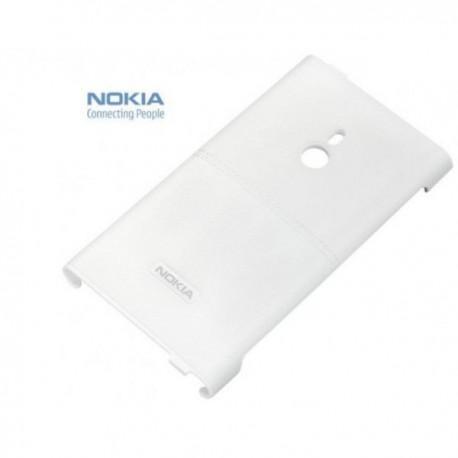 Etui za Nokia Lumia 800,bela barva,zadnji pokrovček CC-3037