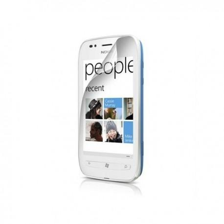 Zaščitna folija ekrana za Nokia Lumia 710,paket 2 v 1