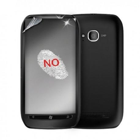 Zaščitna folija ekrana za Nokia Lumia 710,Anti-Finger