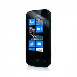 Zaščitna folija ekrana za Nokia Lumia 710,paket 2 v 1,original Nokia CP-5041