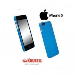 Etui za Apple iPhone 5/5S Zadnji pokrovček Krusell ColorCover, modra barva