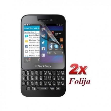 Zaščitna Folija ekrana za BlackBerry Q5 Duo Pack