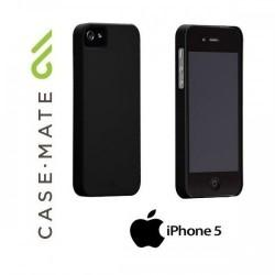 Etui za Apple iPhone 5/5S Case-Mate Barely There Case Zadnji pokrovček, črne barve