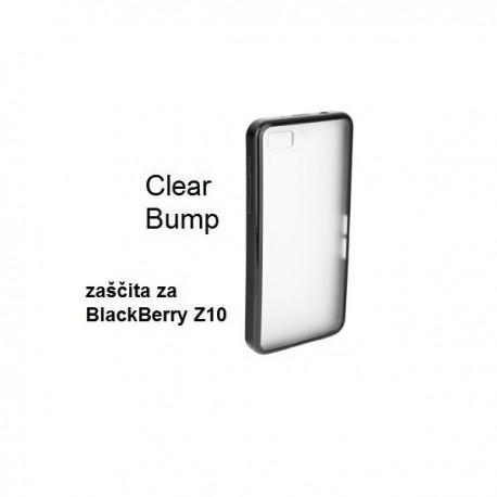 Etui za BlackBerry Z10 Zadnji pokrovček Clearbumper