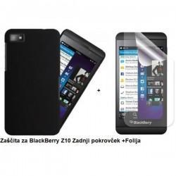 Etui za BlackBerry Z10 Zadnji pokrovček +Folija