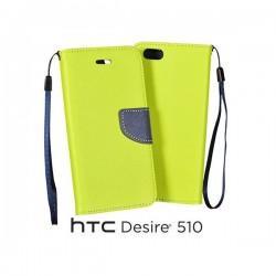 Preklopna Torbica za HTC Desire 510 Limona barva