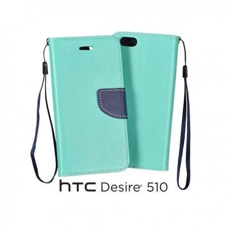 Preklopna Torbica za HTC Desire 510 Mint barva