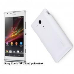 Etui za Sony Xperia SP,zadnji pokrovček,bela barva