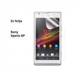 Zaščitna folija ekrana za Sony Xperia SP,paket 2 v 1