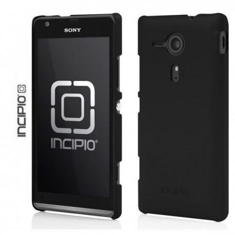 Etui za Sony Xperia SP,zadnji pokrovček,črna barva+folija ekrana,Incipio
