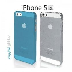 Etui za Apple iPhone 5,5S Crystal Cover Duo pack 2/1