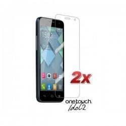 Zaščitna Folija za Alcatel One Touch Idol 2 Duo Pack