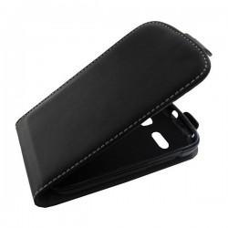 Torbica za Alcatel One touch POP C3 Preklopna +Zaščitna folija ekrana Črna barva