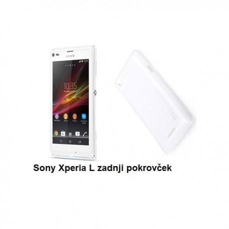 Etui za Sony Xperia L,zadnji pokrovček,bela barva