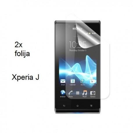 Zaščitna folija ekrana za Sony Xperia J,paket 2 v 1