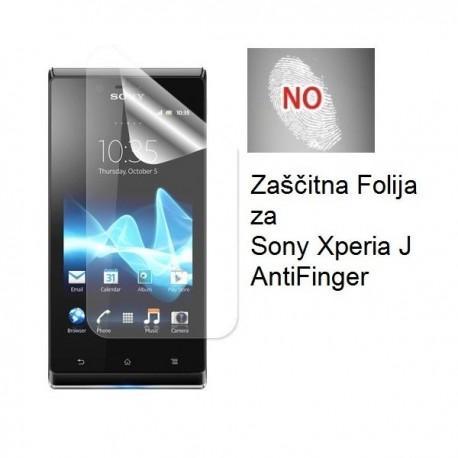 Zaščitna folija ekrana za Sony Xperia J,AntiFinger