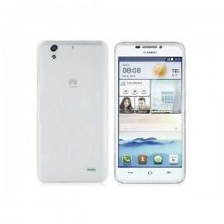 Silikon etui za Huawei Ascend G630 +Folija ekrana Bela Mat barva