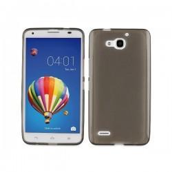 Silikon etui za Huawei Ascend G750 Honor 3X +Folija ekrana Temna barva