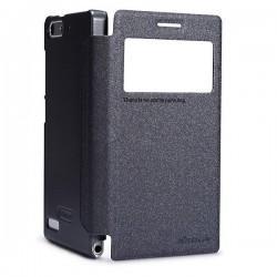 Torbica za Huawei Ascend G6 S-View ,Preklopna Črna barva