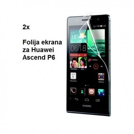 Zaščitna Folija ekrana za Huawei Ascend P6 ,Duo pack