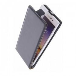 Torbica za Huawei Ascend P7 Preklopna +Zaščitna folija Črna barva