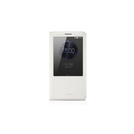 Torbica za Huawei Ascend Mate 7 S-View Preklopna Bež barva Original