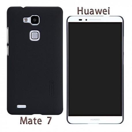 Zadnji pokrovček za Huawei Ascend Mate 7+Folija ekrana Črna barva