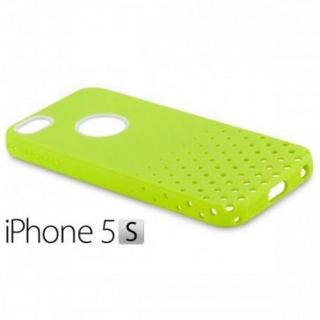iCase Airy za Apple iPhone 5/5S ,Limona zelena barva+Folija