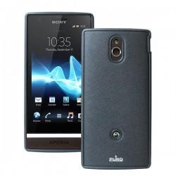 Etui za Sony Xperia P,črna barva,Puro Professional Cover