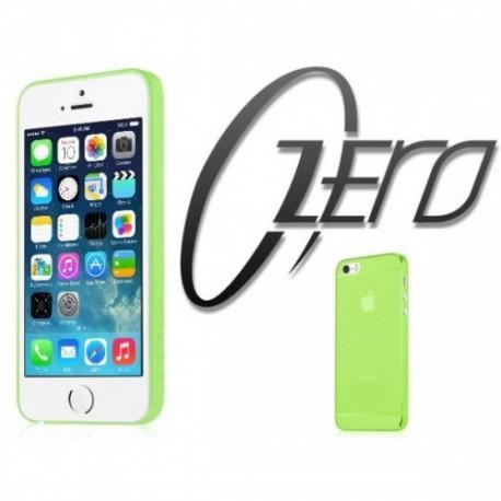 ITSKINS Zero 360 (0.3mm) za Apple iPhone 5/5S ,zadnji pokrovček Zelena barva + Zaščitna folija