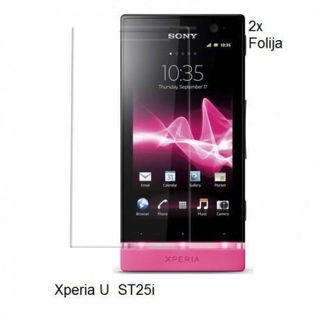 Zaščitna folija ekrana za Sony Xperia U,paket 2 v 1