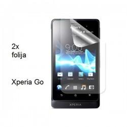 Zaščitna folija ekrana za Sony Xperia Go,paket 2 v 1