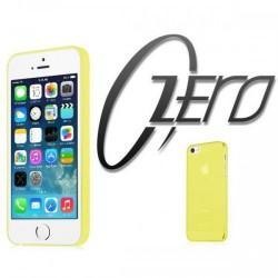 ITSKINS Zero 360 (0.3mm) za Apple iPhone 5/5S ,zadnji pokrovček Rumena barva + Zaščitna folija