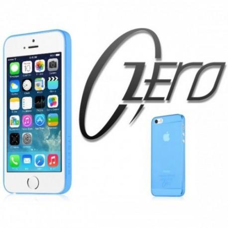 ITSKINS Zero 360 (0.3mm) za Apple iPhone 5/5S ,zadnji pokrovček Modra barva + Zaščitna folija