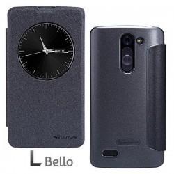 Preklopna Torbica za LG L Bello S-View Temno siva barva