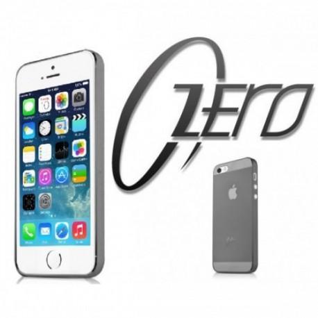 ITSKINS Zero 360 (0.3mm) za Apple iPhone 5/5S ,zadnji pokrovček Prozorno temna barva + Zaščitna folija