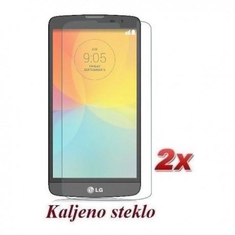 Zaščitno kaljeno steklo za LG L Bello Trdota 9H 0,3 mm Premium Duo Pack