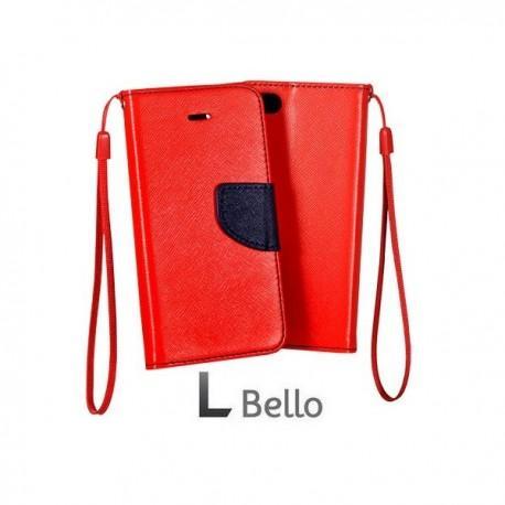 Preklopna Torbica za LG L Bello Rdeča barva