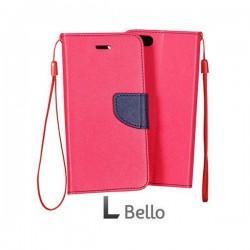Preklopna Torbica za LG L Bello Pink barva