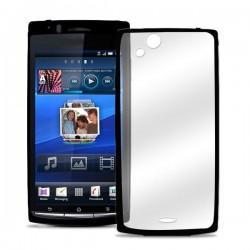 Etui za Sony Xperia Arc,Arc S,prozorna in črna barva