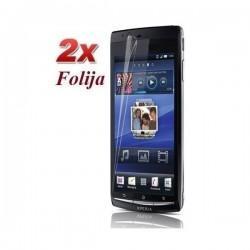 Zaščitna folija ekrana za Sony Xperia Arc,Arc S,paket 2 v 1