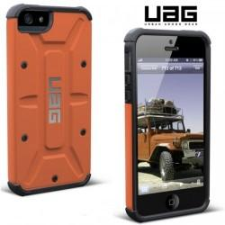 Etui za Apple iPhone 5/5S Urban Armor Gear+Folija ekrana, Rust-Black